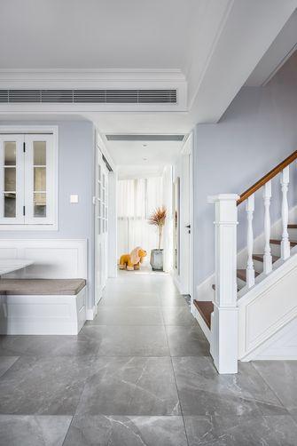 140平米四室一厅混搭风格楼梯间效果图