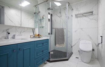 110平米复式现代简约风格卫生间装修图片大全
