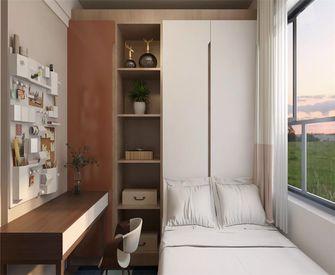 富裕型110平米三室一厅混搭风格阳台装修图片大全