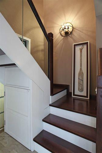 110平米现代简约风格楼梯间图片大全