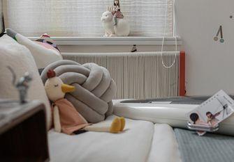 100平米三室一厅北欧风格儿童房设计图