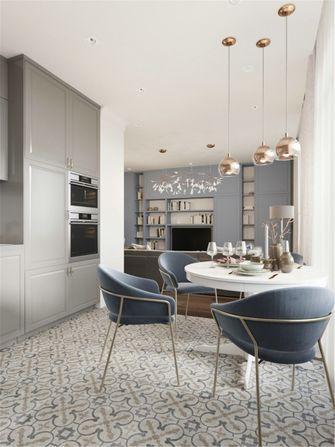 80平米一室一厅新古典风格餐厅装修效果图