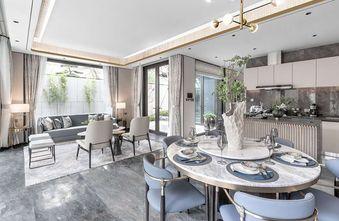 120平米三室一厅新古典风格餐厅装修效果图