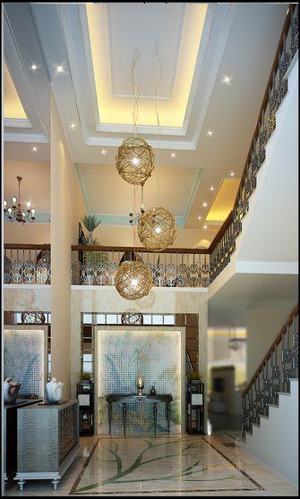 豪华型140平米别墅东南亚风格玄关设计图