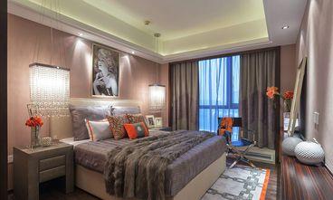 90平米三室一厅混搭风格卧室图片大全