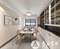 130平米四室两厅北欧风格餐厅欣赏图