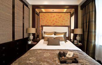 90平米三室一厅东南亚风格卧室欣赏图