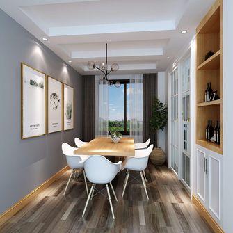 140平米四室两厅东南亚风格餐厅设计图