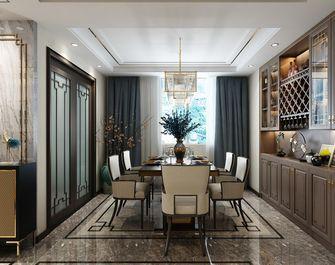 140平米四室两厅中式风格餐厅装修图片大全