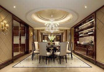 140平米别墅英伦风格餐厅装修案例