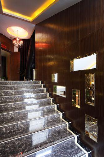 20万以上140平米现代简约风格楼梯图片