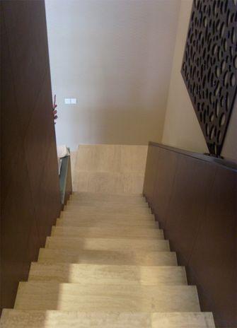 豪华型140平米复式现代简约风格楼梯装修效果图