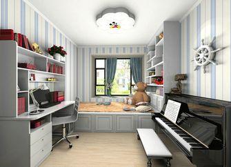 富裕型80平米三室三厅地中海风格儿童房装修案例