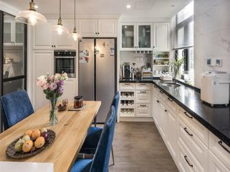 130平米三宜家风格厨房装修图片大全