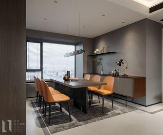 120平米三室一厅现代简约风格餐厅图片大全