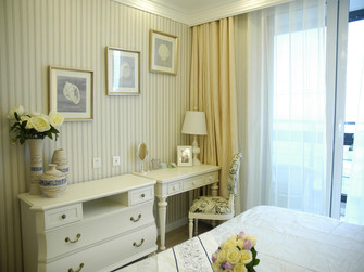 140平米四室两厅地中海风格卧室图片大全