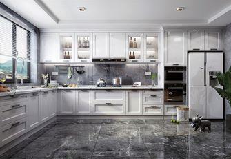 100平米三室两厅中式风格厨房装修图片大全