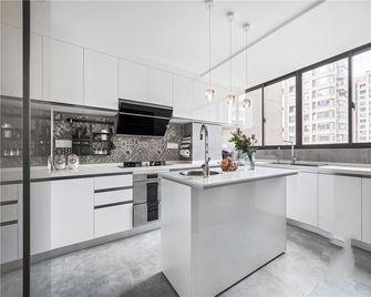 120平米三室两厅现代简约风格厨房装修案例