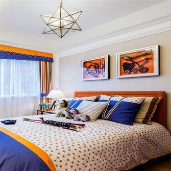 140平米三室一厅新古典风格儿童房效果图