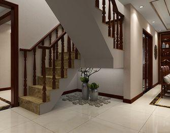 140平米复式中式风格楼梯间效果图
