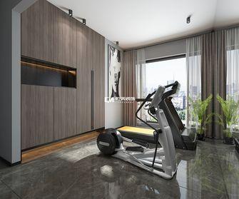 120平米三室两厅现代简约风格健身室图