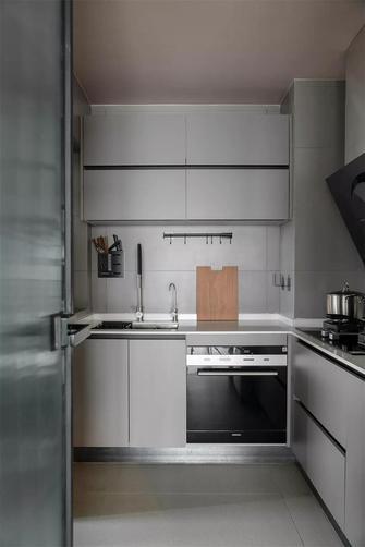 80平米三现代简约风格厨房装修图片大全