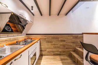 60平米一居室混搭风格厨房图片大全