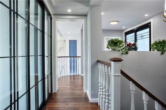 140平米复式美式风格楼梯间欣赏图