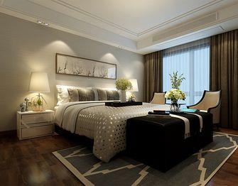 140平米四室一厅中式风格卧室图片大全