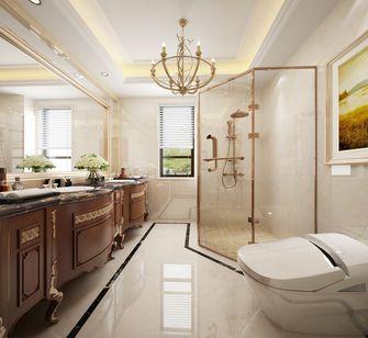 140平米别墅英伦风格卫生间设计图