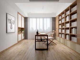 140平米复式日式风格书房装修案例