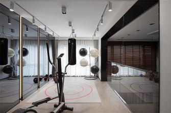 120平米三现代简约风格健身室设计图