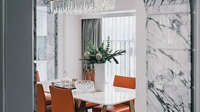 140平米复式混搭风格餐厅图
