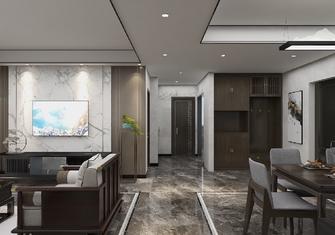 140平米三室一厅中式风格玄关装修效果图