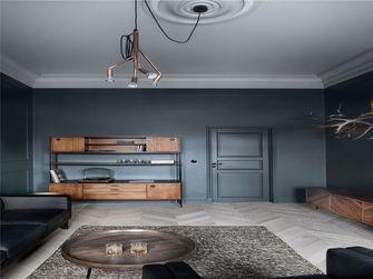 100平米三室两厅英伦风格客厅图片