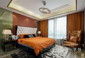 120平米复式现代简约风格卧室装修效果图