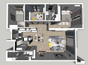 130平米四室两厅北欧风格其他区域装修案例