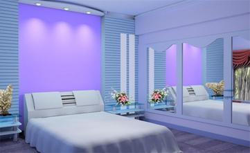 120平米三室三厅宜家风格卧室设计图