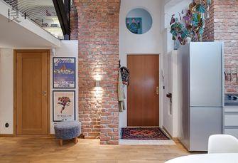 15-20万100平米复式英伦风格走廊图