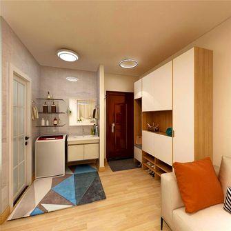 50平米一室两厅北欧风格餐厅设计图