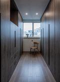 90平米三室两厅日式风格衣帽间效果图