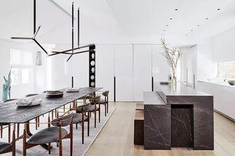 100平米三室一厅田园风格餐厅效果图
