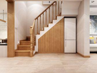 100平米三室两厅日式风格楼梯间欣赏图