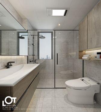 经济型140平米三室两厅现代简约风格卫生间装修案例