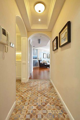 90平米三美式风格走廊装修效果图