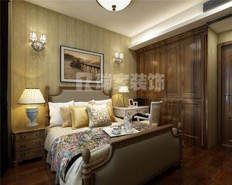 70平米美式风格卧室欣赏图