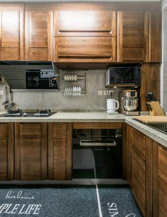 100平米中式风格厨房装修效果图