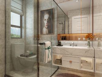 140平米四室一厅北欧风格卫生间设计图