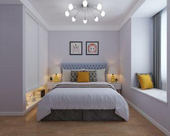 50平米一室两厅混搭风格卧室装修效果图