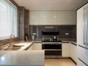 80平米英伦风格厨房图片大全